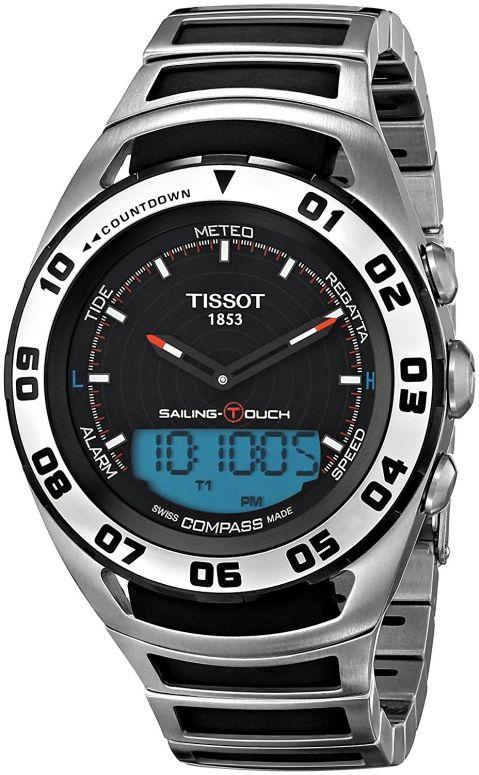 ティソ Tissot 男性用 腕時計 メンズ ウォッチ ブラック T056.420.21.051.00 送料無料 【並行輸入品】