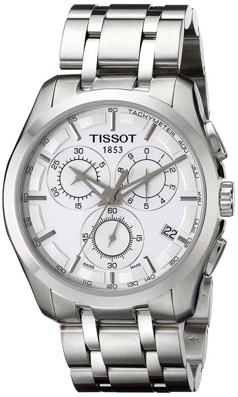ティソ Tissot 男性用 腕時計 メンズ ウォッチ シルバー TIST0356171103100 送料無料 【並行輸入品】