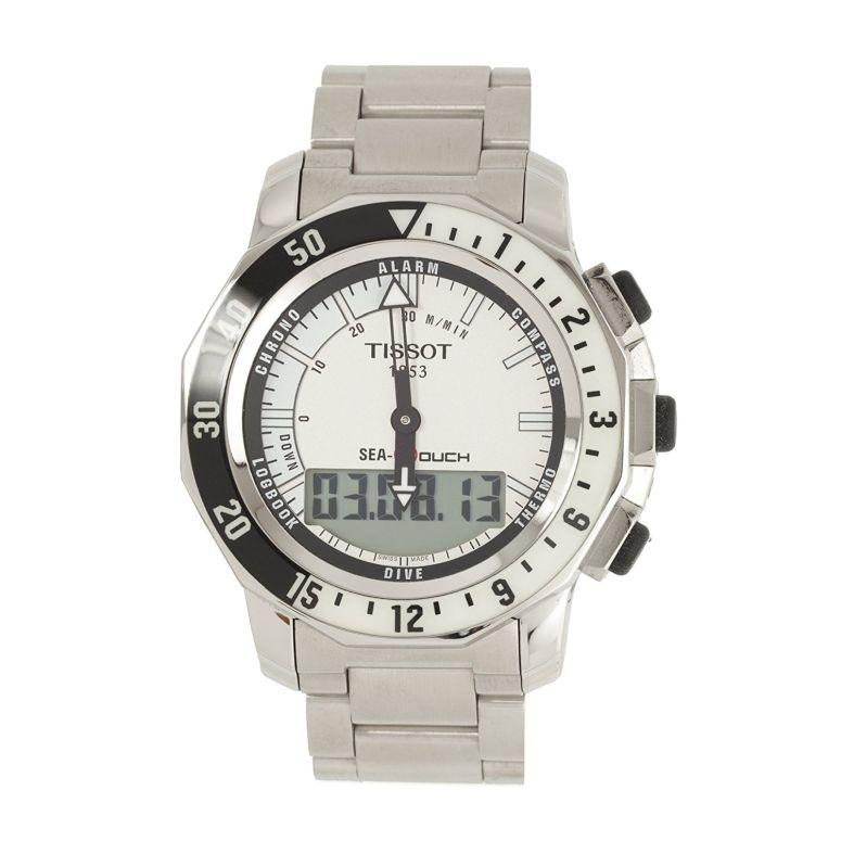 ティソ Tissot 男性用 腕時計 メンズ ウォッチ クロノグラフ シルバー T0264201103100 送料無料 【並行輸入品】
