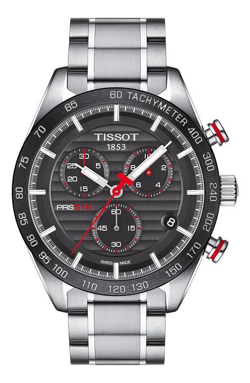 ティソ Tissot 男性用 腕時計 メンズ ウォッチ クロノグラフ ブラック T100.417.11.051.01 送料無料 【並行輸入品】