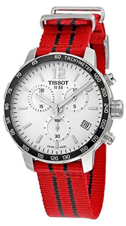 ティソ Tissot 男性用 腕時計 メンズ ウォッチ クロノグラフ ホワイト T095.417.17.037.04 送料無料 【並行輸入品】