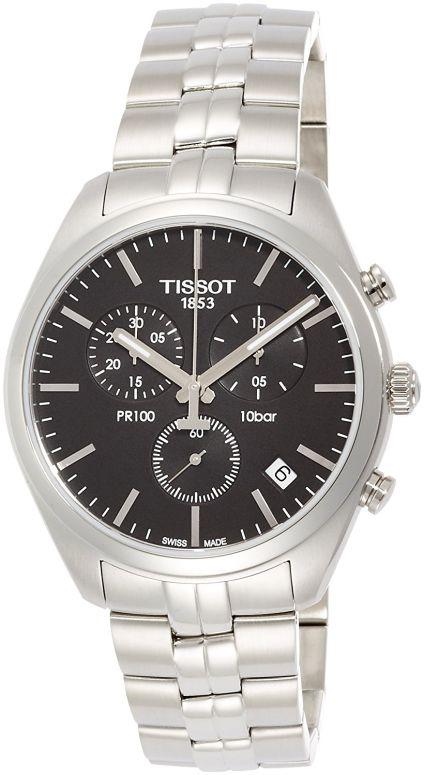 ティソ Tissot 男性用 腕時計 メンズ ウォッチ クロノグラフ ブラック T1014171105100 送料無料 【並行輸入品】