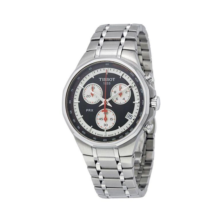 ティソ Tissot 男性用 腕時計 メンズ ウォッチ クロノグラフ ブラック t0774171105101 送料無料 【並行輸入品】