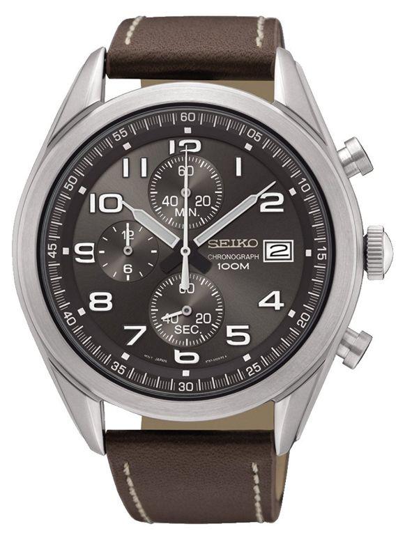 セイコー SEIKO 男性用 腕時計 メンズ ウォッチ クロノグラフ グレー SSB275P1 送料無料 【並行輸入品】