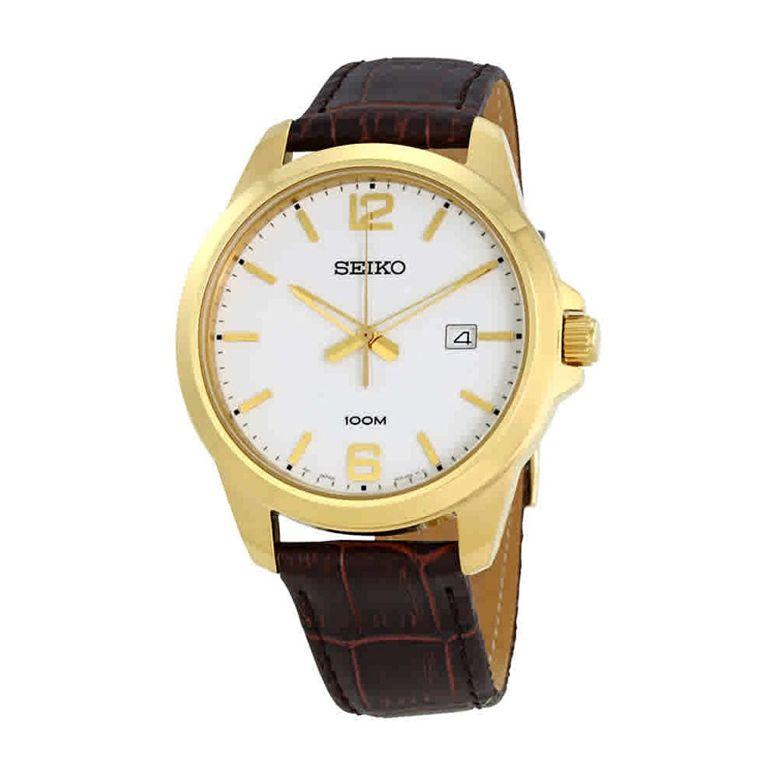 セイコー SEIKO 男性用 腕時計 メンズ ウォッチ ホワイト SUR252 送料無料 【並行輸入品】