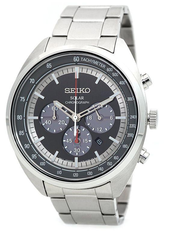 セイコー SEIKO 男性用 腕時計 メンズ ウォッチ クロノグラフ グレー SSC621P1 送料無料