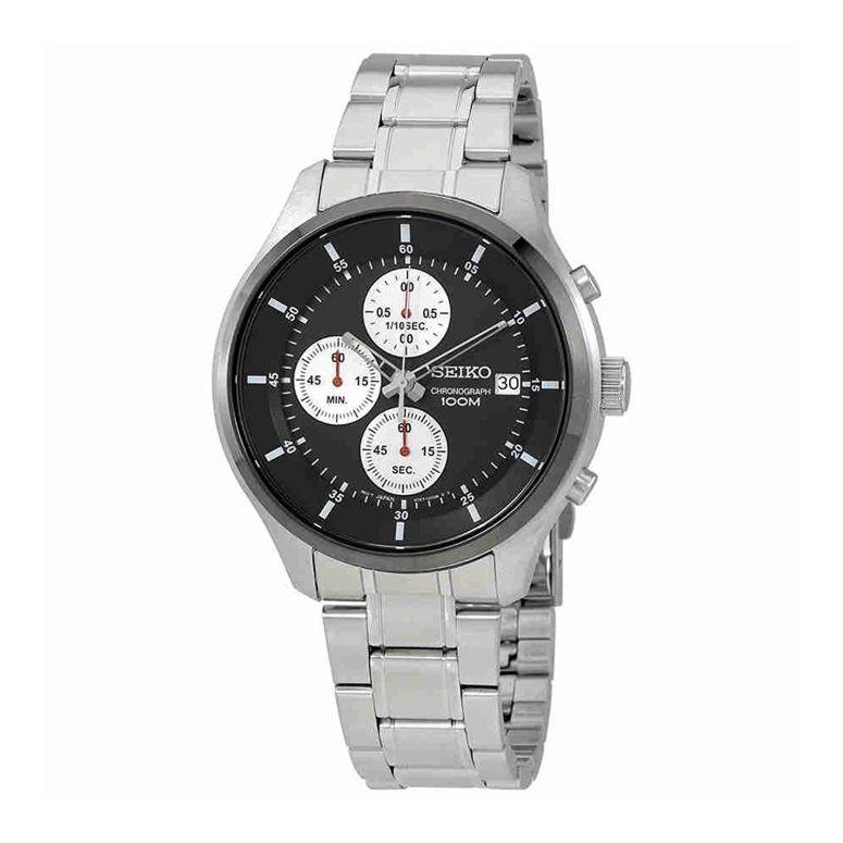 セイコー SEIKO 男性用 腕時計 メンズ ウォッチ クロノグラフ ブラック SKS545P1 送料無料 【並行輸入品】