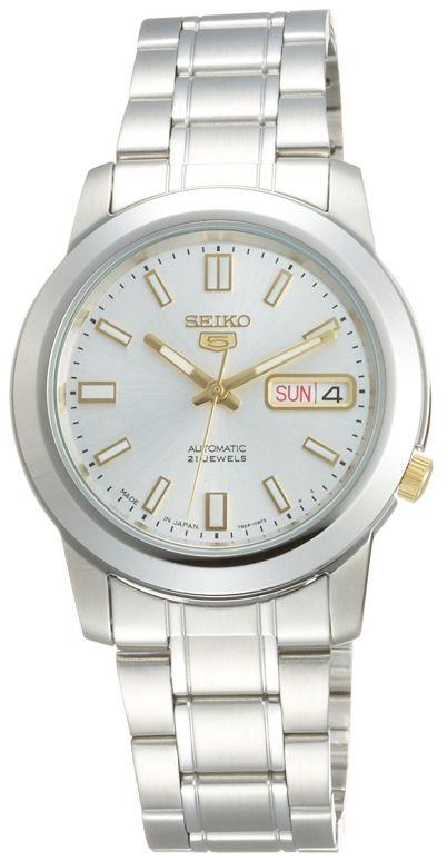 セイコー SEIKO 男性用 腕時計 メンズ ウォッチ シルバー SNKK09J1 送料無料 【並行輸入品】
