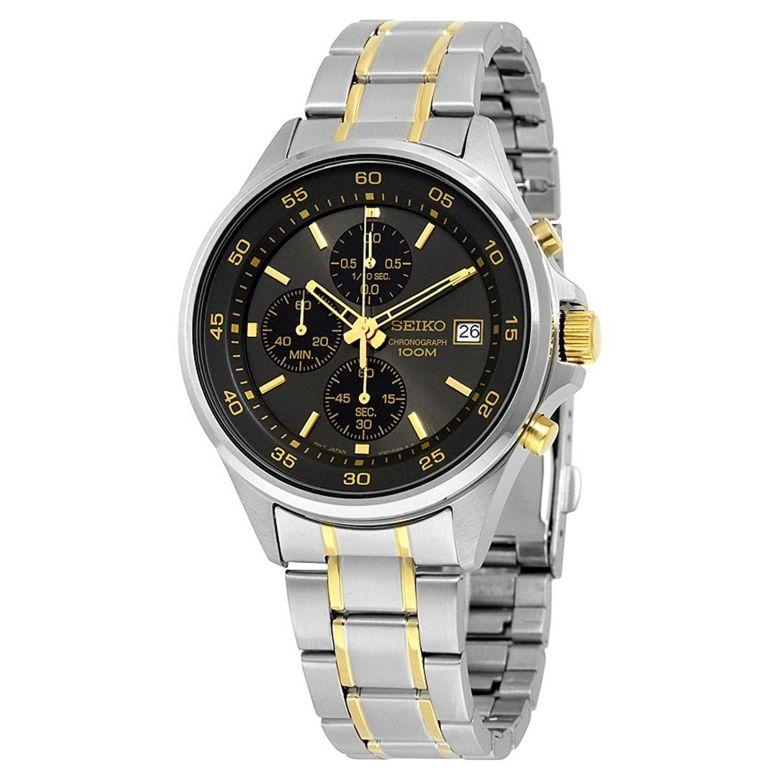 セイコー SEIKO 男性用 腕時計 メンズ ウォッチ クロノグラフ ブラック SKS481 送料無料 【並行輸入品】
