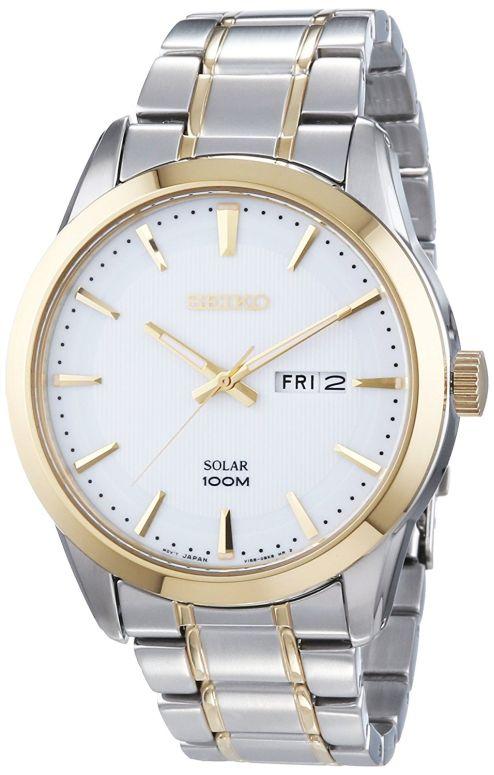 セイコー SEIKO 男性用 腕時計 メンズ ウォッチ ホワイト SNE364P1 送料無料 【並行輸入品】