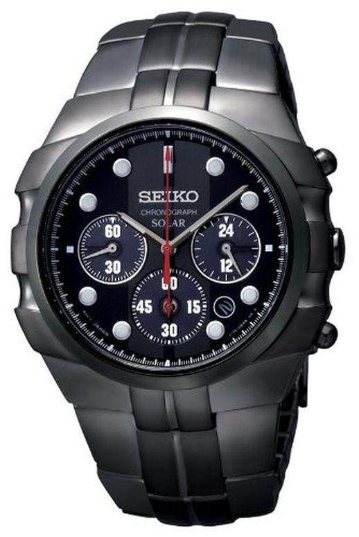セイコー SEIKO 男性用 腕時計 メンズ ウォッチ ブラック SSC091 送料無料 【並行輸入品】