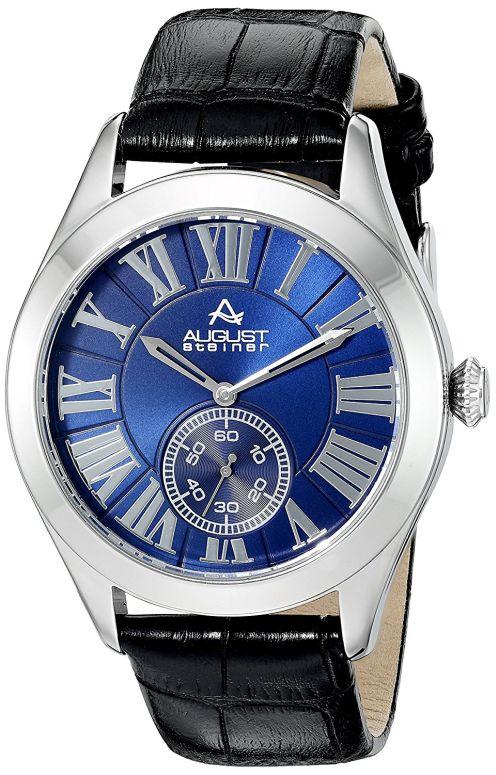 オーガストシュタイナ August Steiner 男性用 腕時計 メンズ ウォッチ ブルー AS8203SSBU 送料無料 【並行輸入品】
