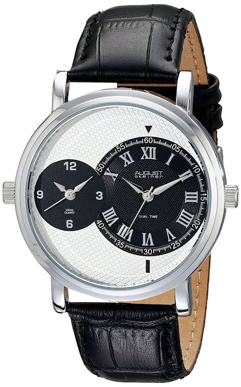 オーガストシュタイナ August Steiner 男性用 腕時計 メンズ ウォッチ ホワイト AS8146SSB 送料無料 【並行輸入品】