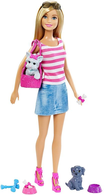 Barbie バービー doll 人形 with Puppy Accessory 送料無料 【並行輸入品】