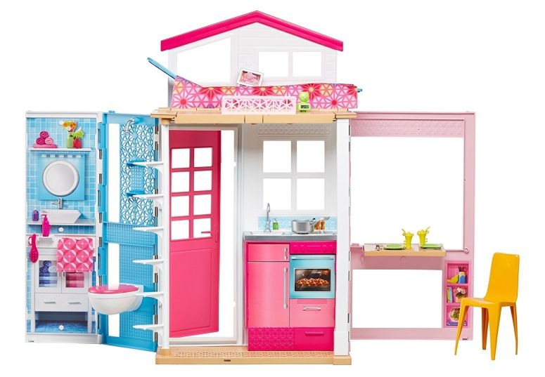 Barbie バービー 2-Story House with Furniture Accessories 送料無料 【並行輸入品】