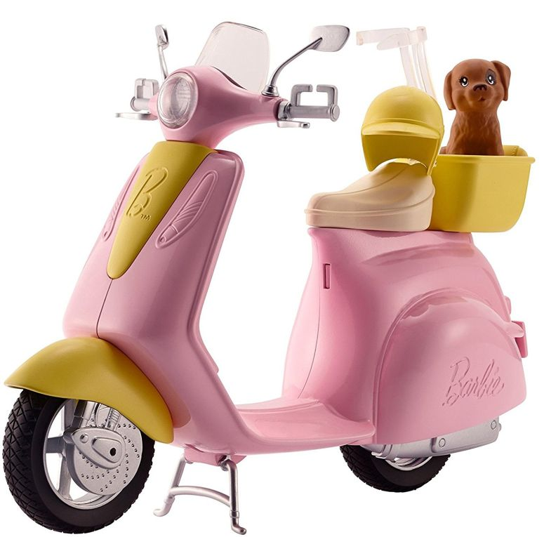 Barbie バービー Scooter with Puppy 送料無料 【並行輸入品】