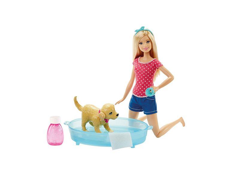 バービー人形 海外 バービー コレクター バービードール アメリカ Barbie バービー Splish Splash Pup プレイセット おもちゃ 【並行輸入品】