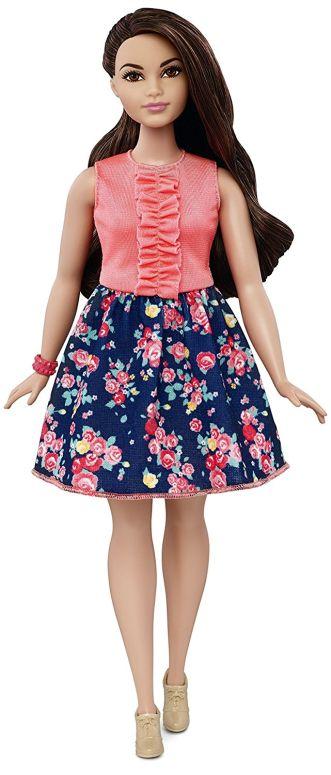 Barbie バービー Fashionistas doll 人形 26 Spring Into Style - Curvy 送料無料 【並行輸入品】