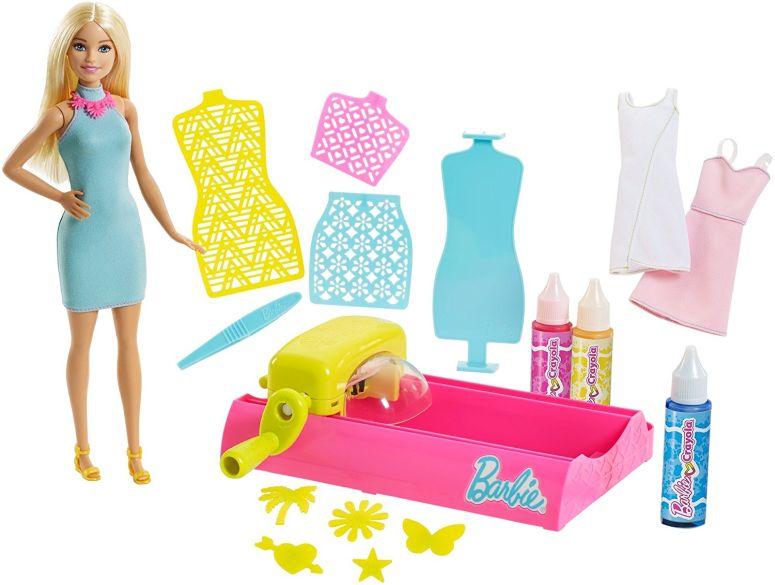Barbie バービー Crayola Color Magic Station doll 人形 プレイセット おもちゃ Blonde 送料無料 【並行輸入品】
