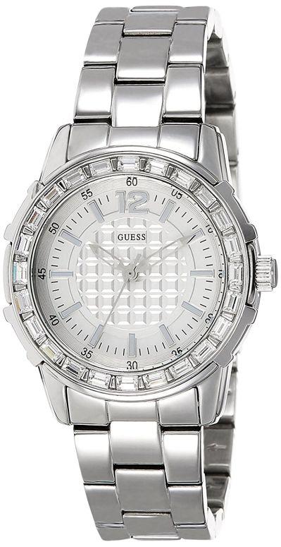 ゲス GUESS 女性用 腕時計 レディース ウォッチ シルバー Girly b 送料無料 【並行輸入品】