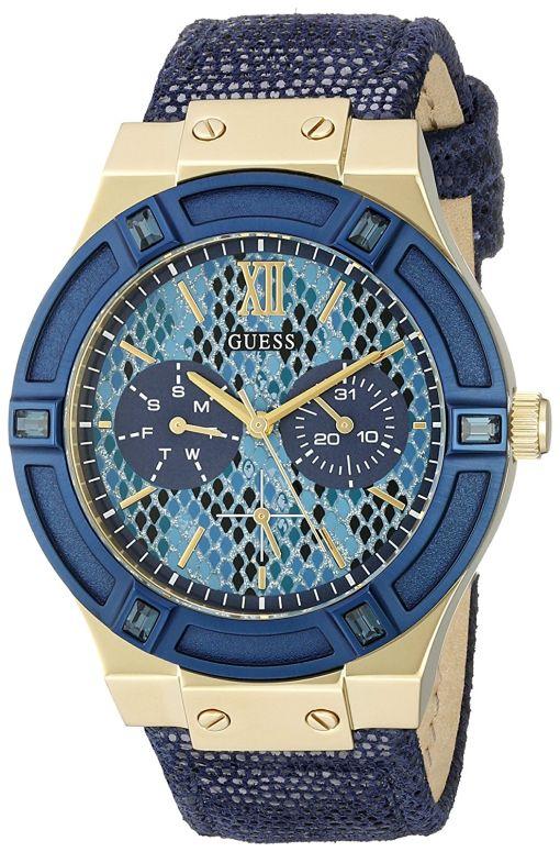 ゲス GUESS 女性用 腕時計 レディース ウォッチ ブルー U0289L3 送料無料 【並行輸入品】
