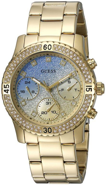 ゲス GUESS 女性用 腕時計 レディース ウォッチ ブルー U0774L2 送料無料 【並行輸入品】
