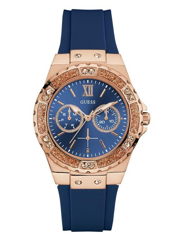 ゲス GUESS 女性用 腕時計 レディース ウォッチ ブルー U1053L1 送料無料 【並行輸入品】