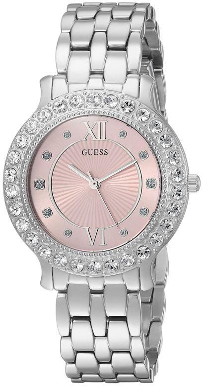 日本産 ゲス GUESS 腕時計 内祝い ウォッチ 時計 女性用 レディース ピンク U1062L2 送料無料 並行輸入品
