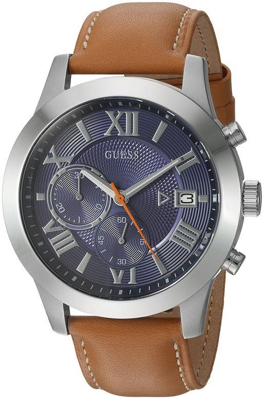 ゲス GUESS 男性用 腕時計 メンズ ウォッチ ブルー U0669G3 送料無料 【並行輸入品】