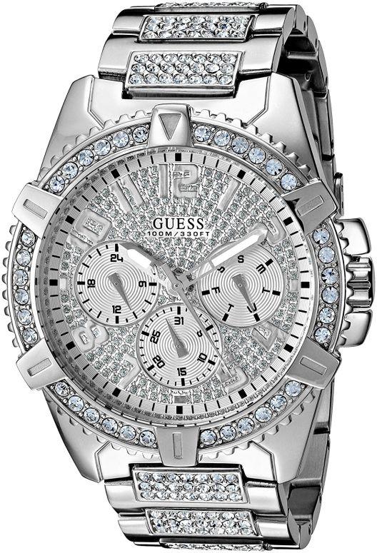 ゲス GUESS 男性用 腕時計 メンズ ウォッチ シルバー U0799G1 送料無料 【並行輸入品】