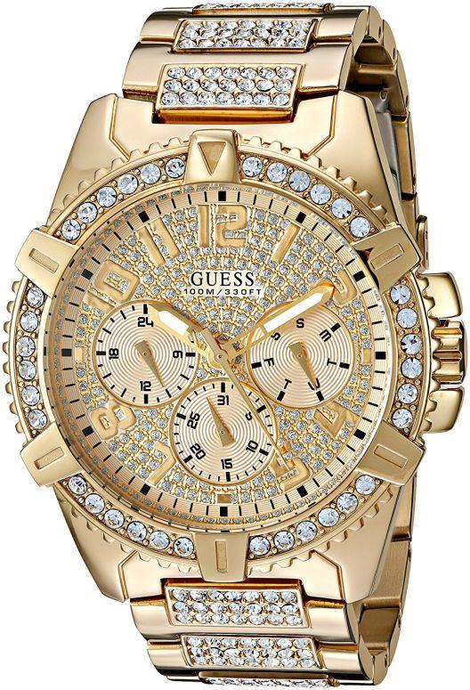 ゲス GUESS 男性用 腕時計 メンズ ウォッチ ゴールド U0799G2 送料無料 【並行輸入品】