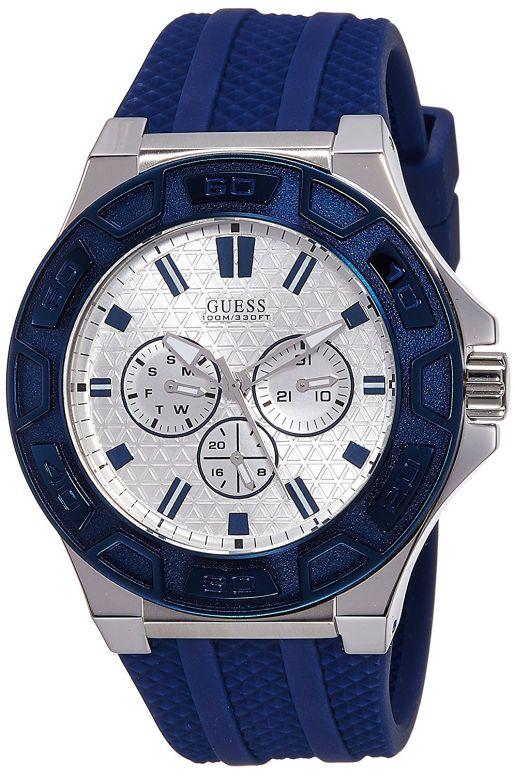 ゲス GUESS 男性用 腕時計 メンズ ウォッチ シルバー W0674G4 送料無料 【並行輸入品】