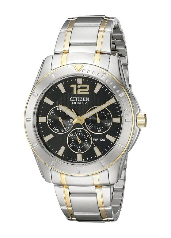 シチズン Citizen 男性用 腕時計 メンズ ウォッチ ブラック AG8304-51E 送料無料 【並行輸入品】