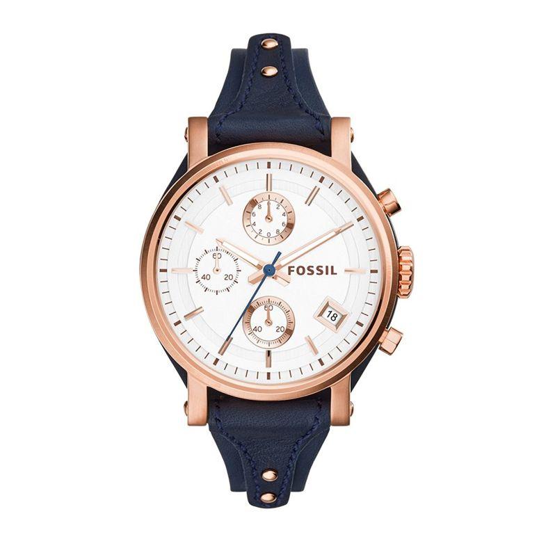 フォッシル Fossil 女性用 腕時計 レディース ウォッチ クロノグラフ シルバー ES3838 送料無料 【並行輸入品】