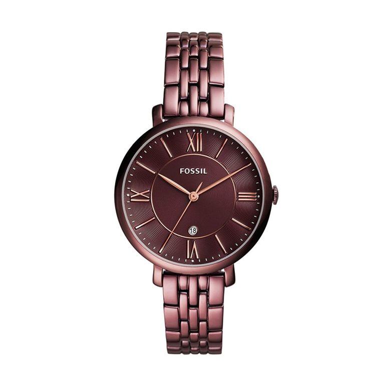 フォッシル Fossil 女性用 腕時計 レディース ウォッチ レッド ES4100 送料無料 【並行輸入品】