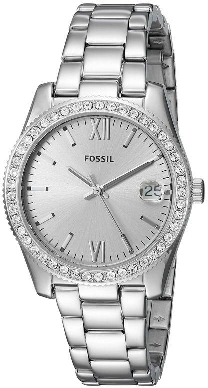 フォッシル Fossil 女性用 腕時計 レディース ウォッチ シルバー ES4317 送料無料 【並行輸入品】