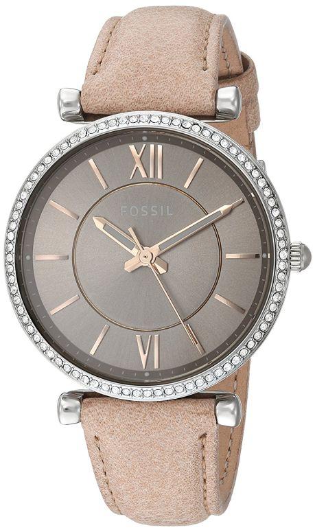 フォッシル Fossil 女性用 腕時計 レディース ウォッチ ブラウン ES4343 送料無料 【並行輸入品】