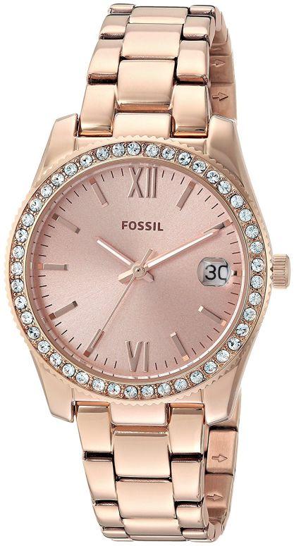フォッシル Fossil 女性用 腕時計 レディース ウォッチ ローズゴールド ES4318 送料無料 【並行輸入品】