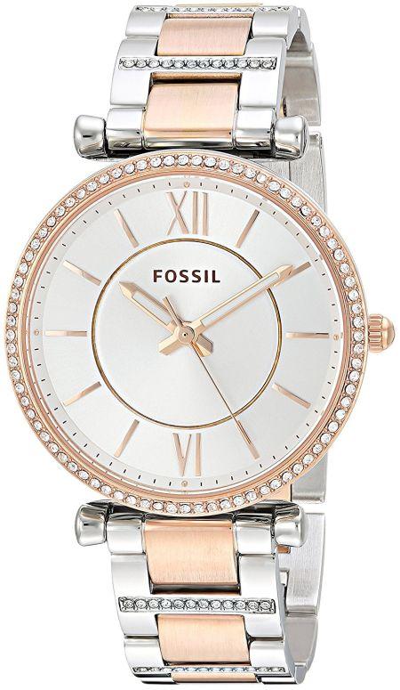 フォッシル Fossil 女性用 腕時計 レディース ウォッチ シルバー ES4342 送料無料 【並行輸入品】