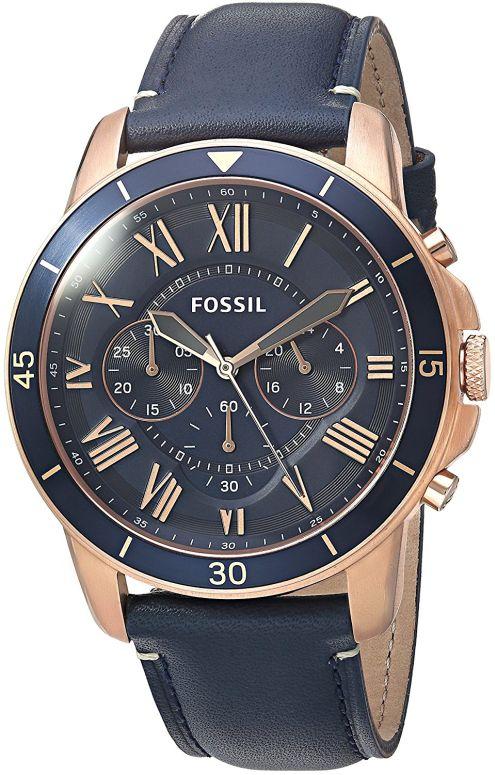 フォッシル Fossil 男性用 腕時計 メンズ ウォッチ クロノグラフ ブルー FS5237 送料無料 【並行輸入品】