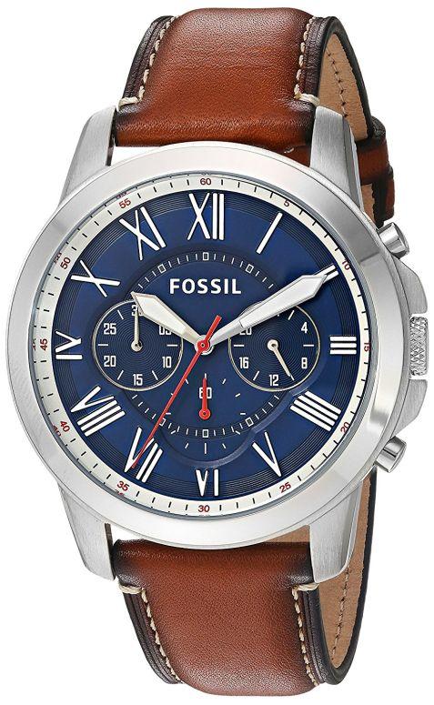 フォッシル Fossil 男性用 腕時計 メンズ ウォッチ ブルー FS5210 送料無料 【並行輸入品】
