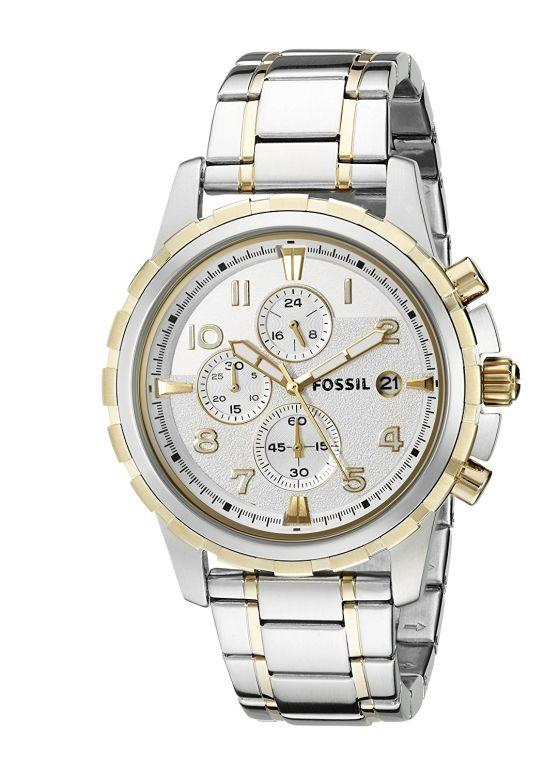 フォッシル Fossil 男性用 腕時計 メンズ ウォッチ ホワイト FS4795 送料無料 【並行輸入品】