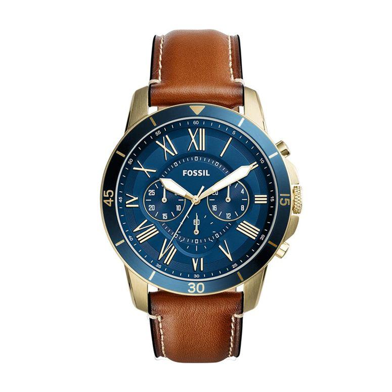 フォッシル Fossil 男性用 腕時計 メンズ ウォッチ クロノグラフ ブルー FS5268 送料無料 【並行輸入品】