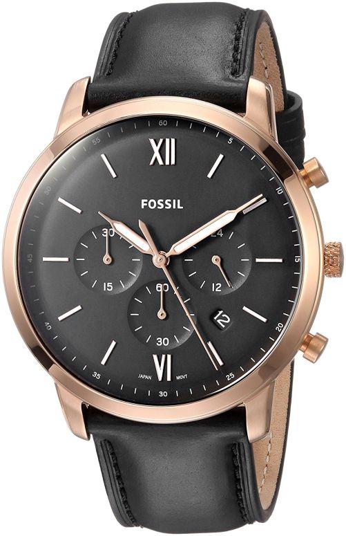 フォッシル Fossil 男性用 腕時計 メンズ ウォッチ クロノグラフ ブラック FS5381 送料無料 【並行輸入品】