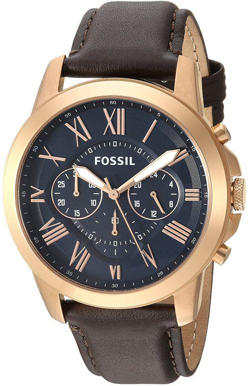フォッシル Fossil 男性用 腕時計 メンズ ウォッチ ブルー FS5068 送料無料 【並行輸入品】