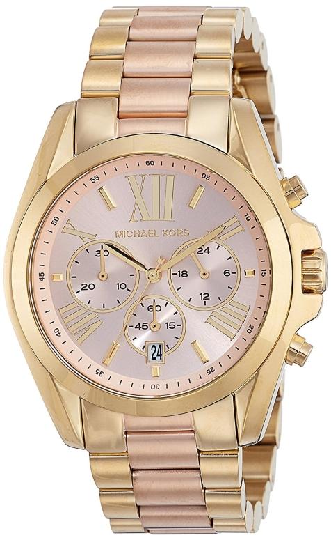 マイケルコース Michael Kors 女性用 腕時計 レディース ウォッチ クロノグラフ ローズゴールド MK6359 送料無料 【並行輸入品】