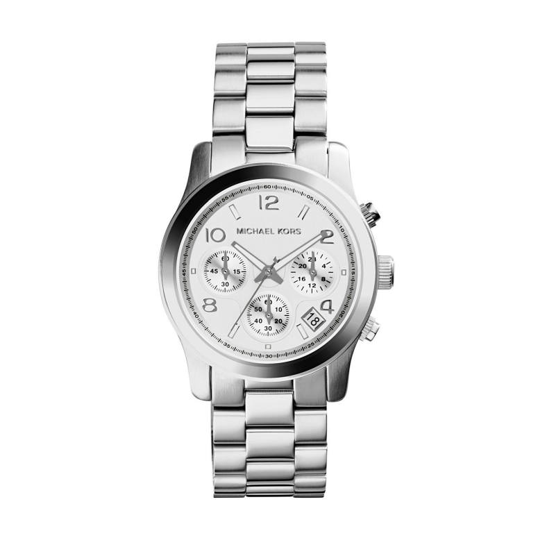 マイケルコース Michael Kors 女性用 腕時計 レディース ウォッチ クロノグラフ シルバー MK5076 送料無料 【並行輸入品】