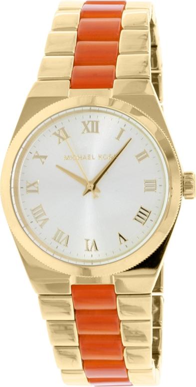 マイケルコース Michael Kors 女性用 腕時計 レディース ウォッチ シャンパン MK6153 送料無料 【並行輸入品】