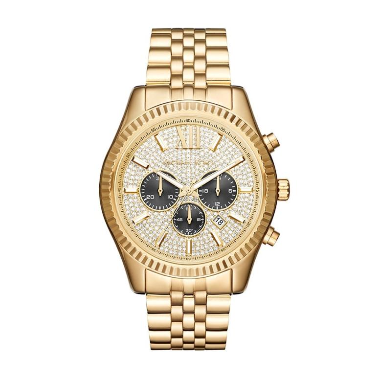 マイケルコース Michael Kors 男性用 腕時計 メンズ ウォッチ ゴールド MK8494 送料無料 【並行輸入品】
