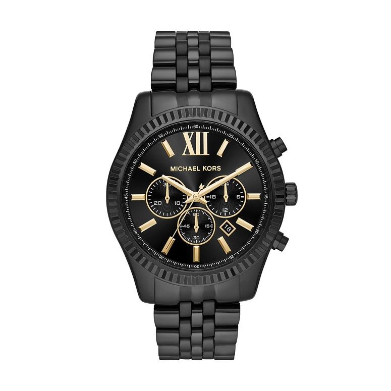 マイケルコース Michael Kors 男性用 腕時計 メンズ ウォッチ ブラック MK8603 送料無料 【並行輸入品】